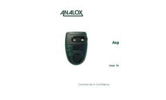 Analox - Model ASPIDA - Carbon Dioxide Monitor - User Manual