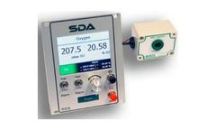 Analox - Model SDA Dual Oxygen - Saturation Control Gas Monitoring