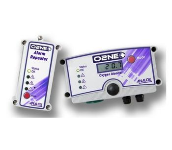 Analox - Model O2NE+ - Cryotherapy Oxygen Depletion Monitor