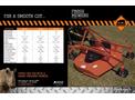 Single Deck Mowers- Brochure
