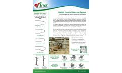 Artex BioRail - Freestall Mounting System - Brochure