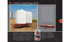 Model PLS7400 - Transportable Liquid Storage Unit- Brochure