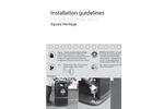 Instilation Instruction Square Heritage - Brochure