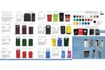 Leafield - REGENT 50 Litre - Hooded Litter Bin - Brochure