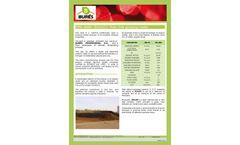 Bures - Model P03000 - Pine Bark Compost Crop Potting Soils- Brochure