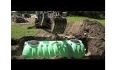 Norwesco Septic Tank Installation Video