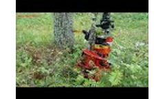 Energy wood head with collector Farmikko Video