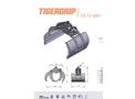 TIGERGRIP - Model TGS 12-50 - Light Clamshell Bucket