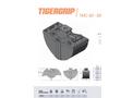 TIGERGRIP - Model TMC 50 - Light Clamshell Bucket