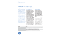 HART Pass-through Integrated Device and Asset Management Solution - Brochure
