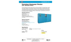 Hydrokleen - Model ACF3 - Multimedia Filtration System Brochure