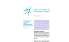 SurePrint miRNA Microarrays rel. 21 Brochure
