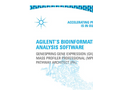 GenSpring Bioinformatics Analysis Software Brochure