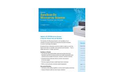 SureScan Dx Microarray Scanner Data Sheet