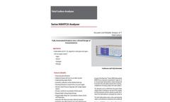 Baseline - Model Series 9000 TCA - Total Carbon Analyzer - Brochure