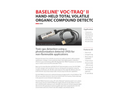 Baseline VOC-TRAQ - Model II - Flow Cell for Total Organic Compound Measurements
