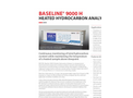 Baseline® 9000 H Heated Total Hydrocarbon Analyzer
