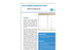 Series 8900GC BTEX in Ambient Air - Application Note