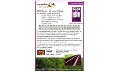 Superior - Model SF 35 - Purple All Round Fertiliser Brochure