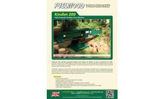 Fuelwood - Model Fuelwood- Kindlet 200 - Fully Automatic Kindling Wood Machine - Brochure