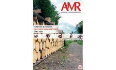 Fuelwood - Model AMR - Mobile Log Splitter for Non-Road Use - Datasheet