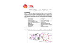 Adrian, MI - PCE Remediation at Active Facility Brochure
