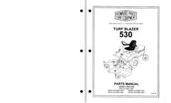 Howard - Model 530 - Turf Blazer Mower Manual