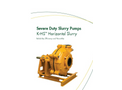 Keto - Model K-HS - Severe Duty Horizontal Pump Brochure