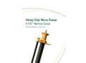 Keto - Model K-VS - Heavy Duty Vertical Sump Pump Brochure