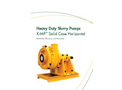 Keto - Model K-HSPP - Super High Pressure Severe Duty Pump Brochure