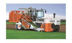 Trebro - Model SC2010 - Self-Propelled Automatic Stacking Roll Harvester