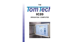 Tomtech - Model IC20 - Irrigation Computer Datasheet