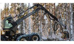 Cranab - Model HC185 - Forestry Harvester Cranes