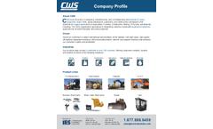 CWS Industries Company Profile - Brochure