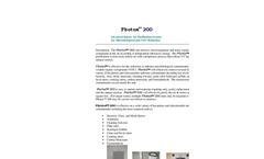 Photox - Model 200 - Advanced Indoor Air Purification System - Datasheet
