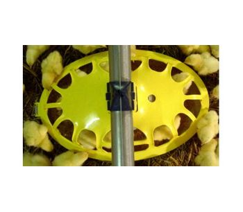 HaiKoo - Unique Oval Broiler Pan Feeding System