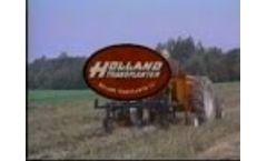 Mulch Digger Lifter Holland Transplanter - Video