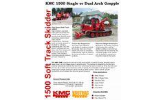 KMC - Model 1500 - Single or Dual Arch Grapple - Datasheet