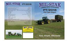 Mil-Stak - Model PT/2016 - Pull Type Wagons Brochure