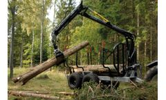 Hypro - Model HV14 - Forwarder Trailer