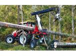 Forestry Wheel Carried Tractor Processor