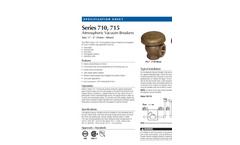 Febco - Model 710 - Atmospheric Vacuum Breakers Brochure