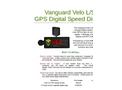 Velo - Model L/S - GPS & Speed Sensors Brochure