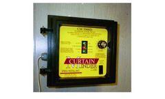 Pro-Tech - Model CM 5000D - Curtain Emergency Ventilation Control System