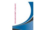 Contract Labour Services - Brochure
