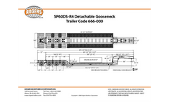 Rogers - Model 60-Ton SP60DS-3XSPR4 - Detachable Gooseneck Trailer Brochure