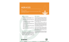 Agrichem - Model Agri-KS32 - Nutrient Analysis for Chloride and Nitrate Free Potassium - Datasheet