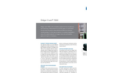 X-am - Model 7000 - Draeger Safety Combustible Gas Detector with PID Brochure