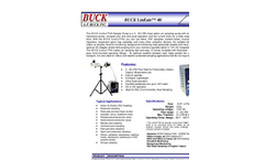 Buck LinEair - 40 - Air Sampling Pump Brochure