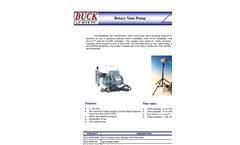 A. P. Buck - Rotary Vane Pump Brochure